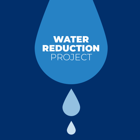 Water reduction project illustration