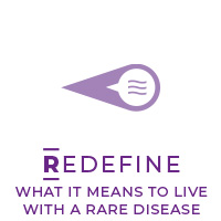 Redefine What it Means to Live with a Rare Disease